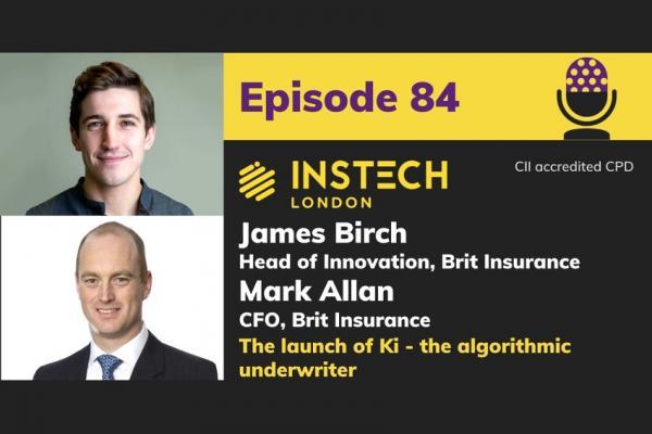 The launch of Ki, the algorithmic underwriter. Mark Allan & James Birch, Brit Insurance cover image