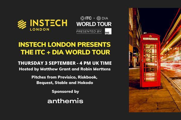 InsTech London to host UK leg of ITC + DIA World Tour cover image