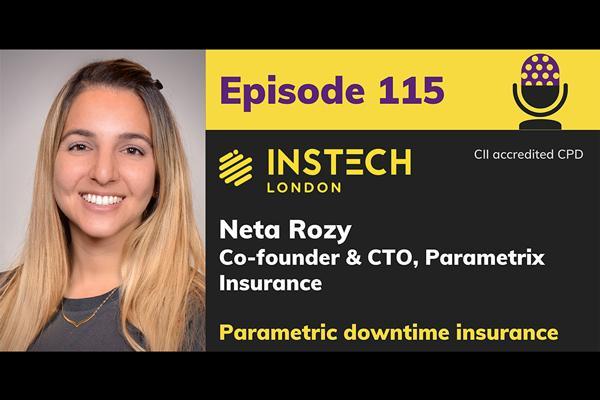 Neta Rozy: Co-founder and CTO, Parametrix Insurance: Parametric downtime insurance cover image